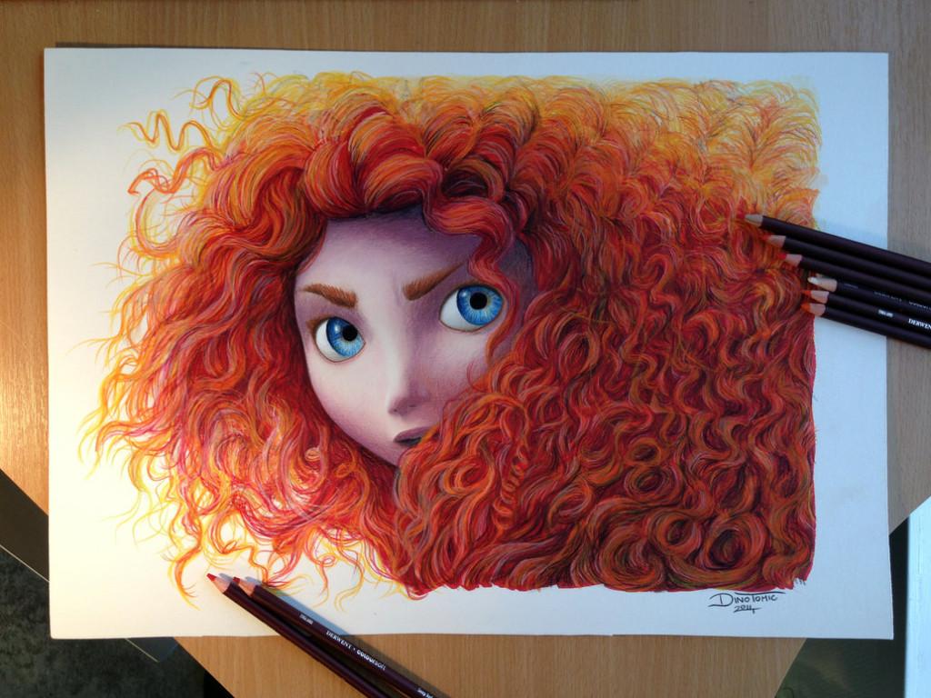 kreslenie farbičkami
