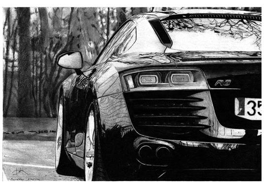 David Kao - Audi R8