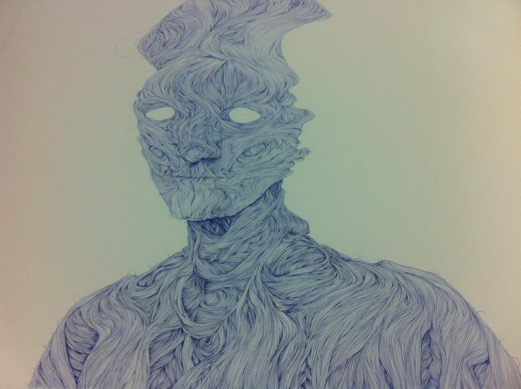 kreslenie, kreslenie perom, perokresba