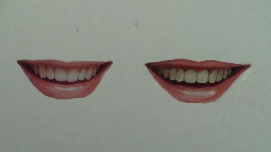 kreslenie úsmevu