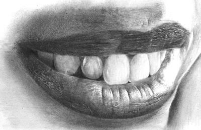 kreslenie zubov, kreslíme zuby, nauč sa kresliť zuby