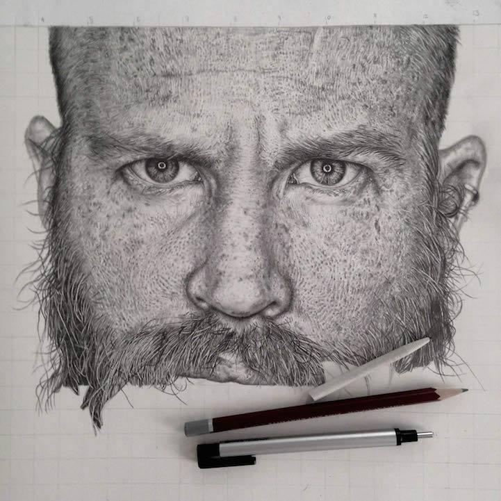 nadherne realisticke kresby