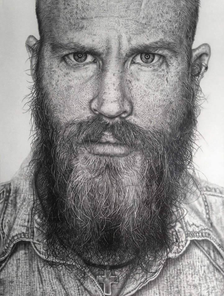 realisticke kresby podla fotografie
