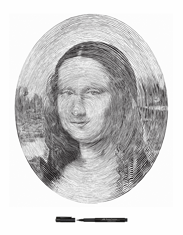 mona lisa  draw