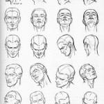 ako kresliť hlavu