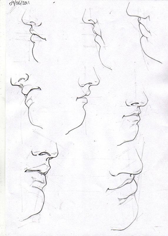 kreslenie ust