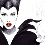 maleficent/vládkyňa zla kresba