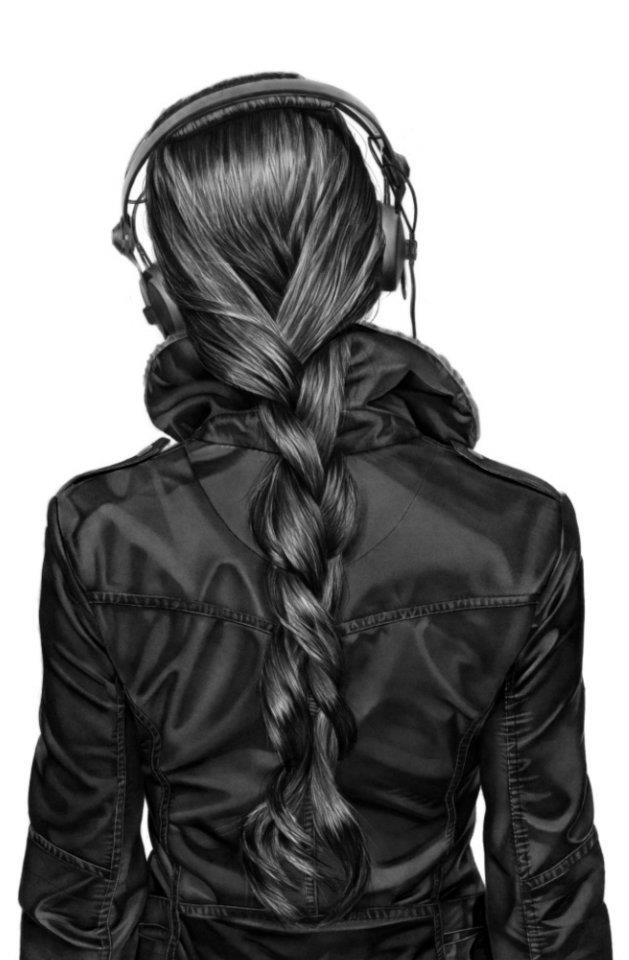 ako kreslit vlasy