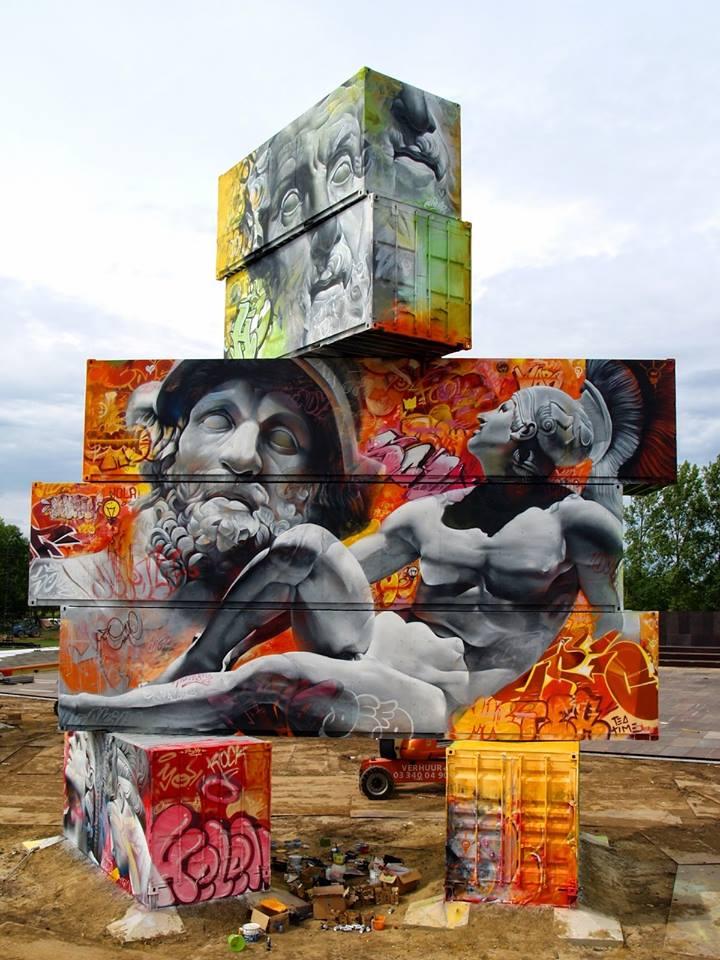 uzasny streetart