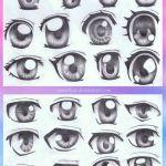 kreslenie manga oci
