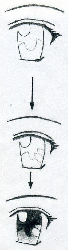 nauc sa kreslit anime oci