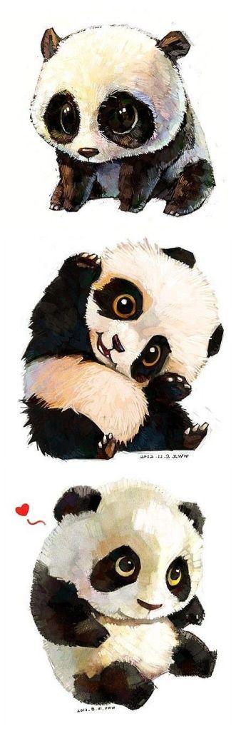 nauc sa kreslit pandu