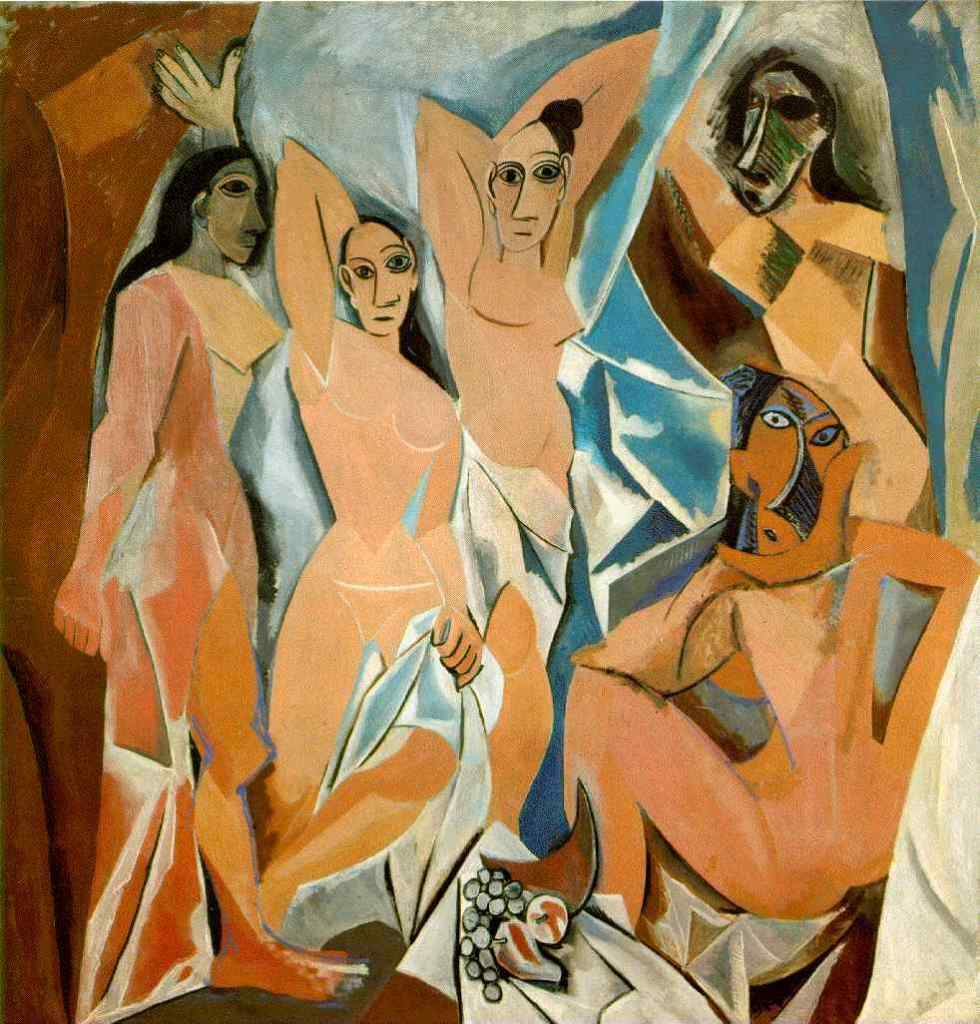 PabloPicasso-Les-Demoiselles-dAvignon-1907