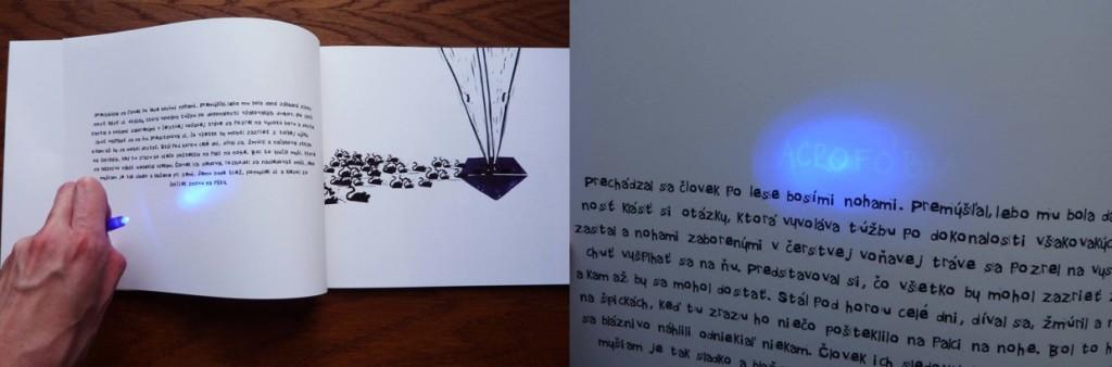 Inka Vybohova, Fobie, 2014, Bc. praca, autorska kniha, 2