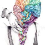 nauc sa kreslit vlasy